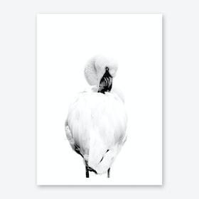 Froilein Flamingo V Art Print