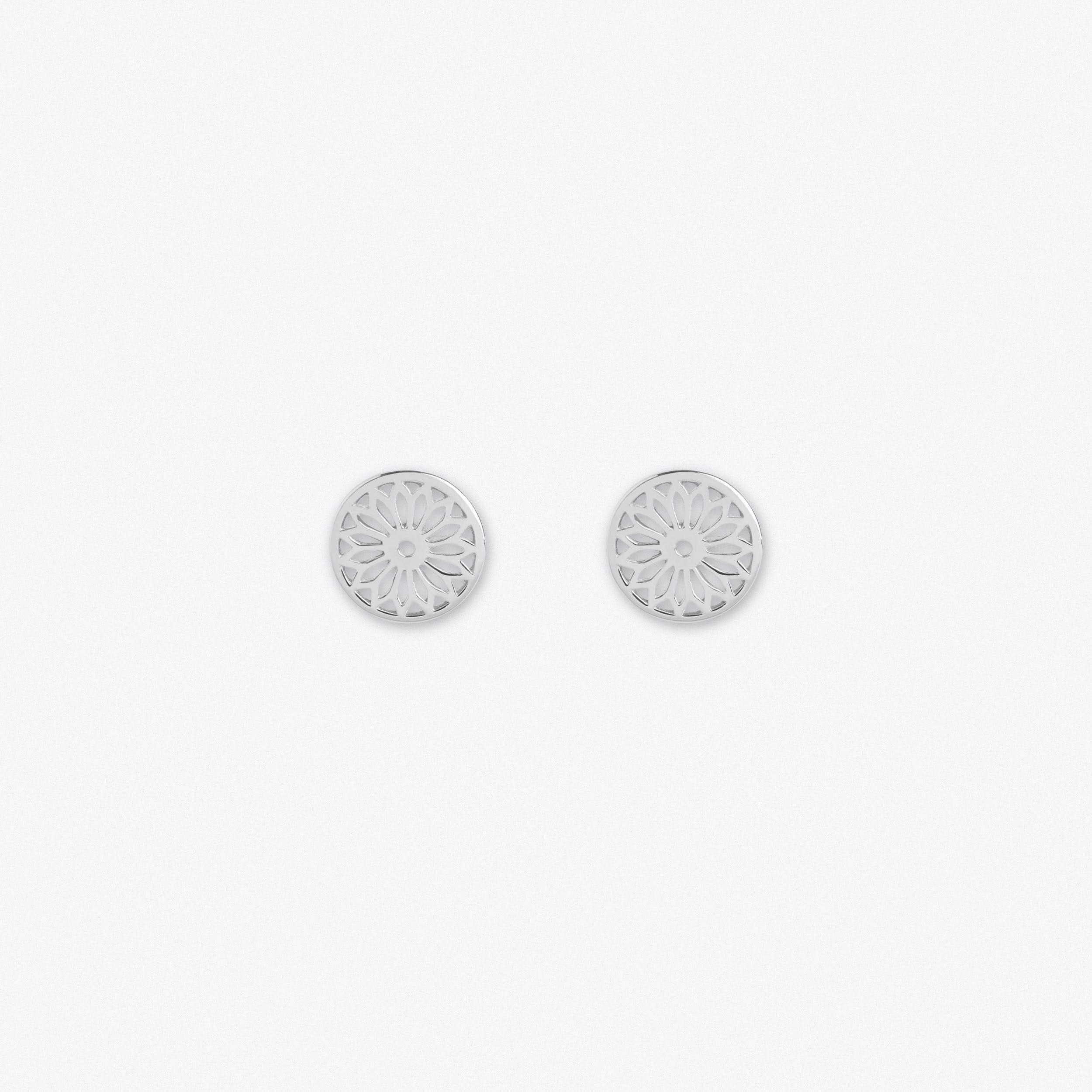 Earrings For Eternity In Silver
