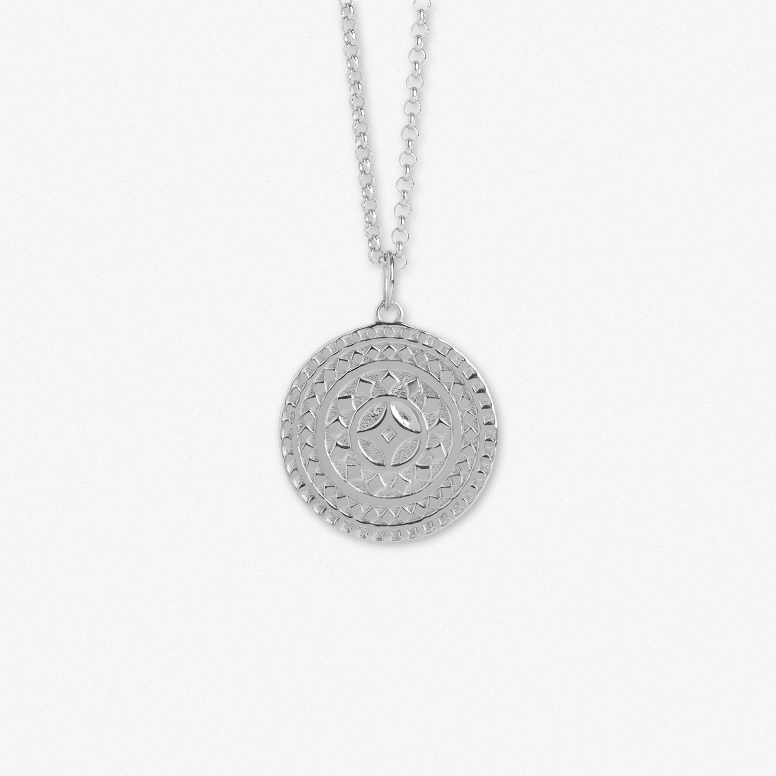 Talisman For Life In Silver