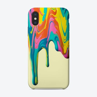 Paint Drip Iii Phone Case