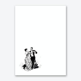 Waltz Art Print