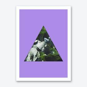 Texture Window VII Art Print
