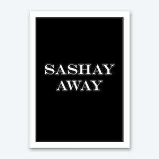 Sashay Art Print