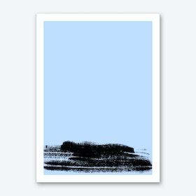 Ink I Blue Art Print