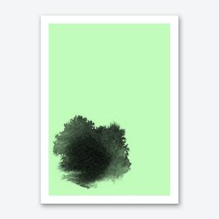 Ink II Green Art Print
