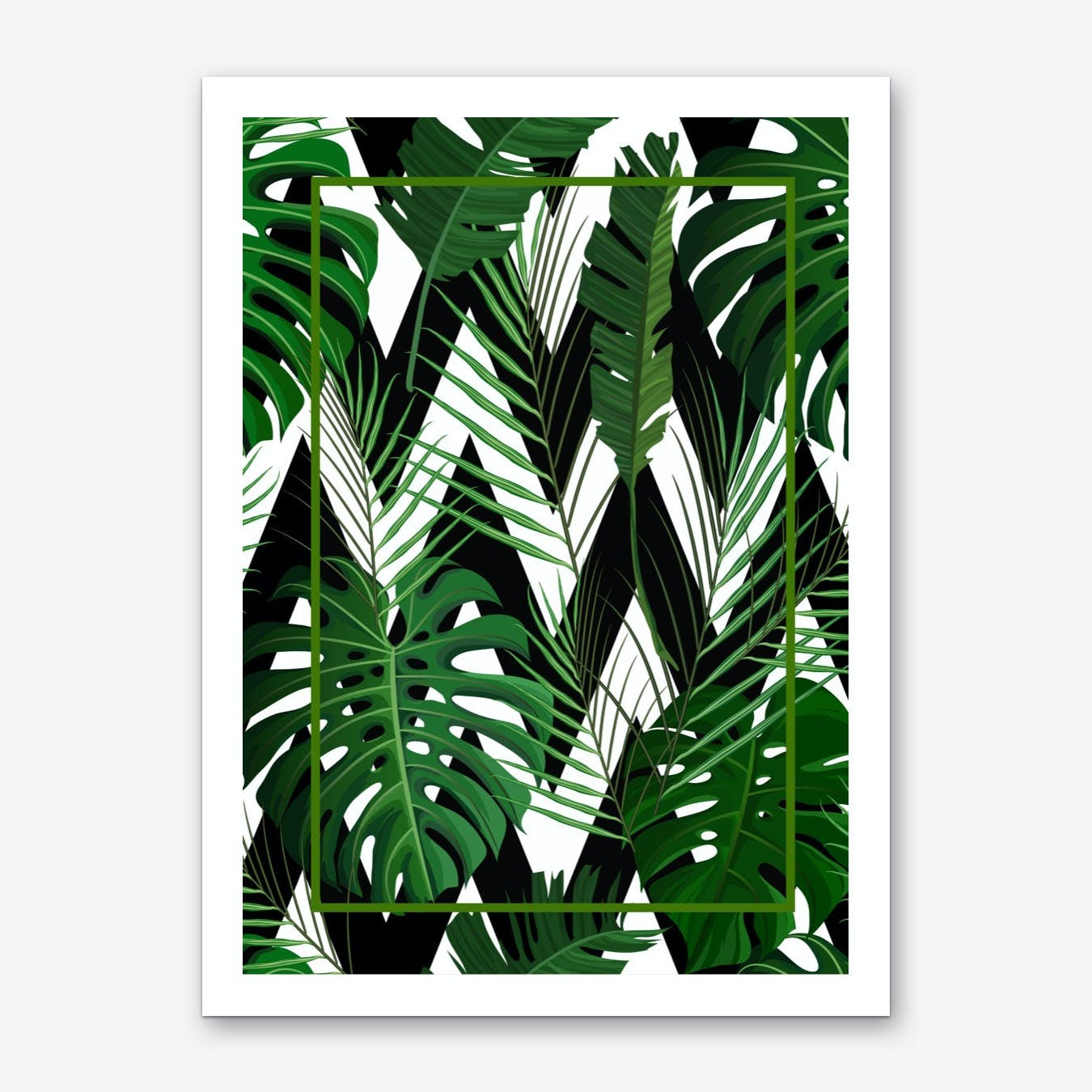 Jungle I Art Print