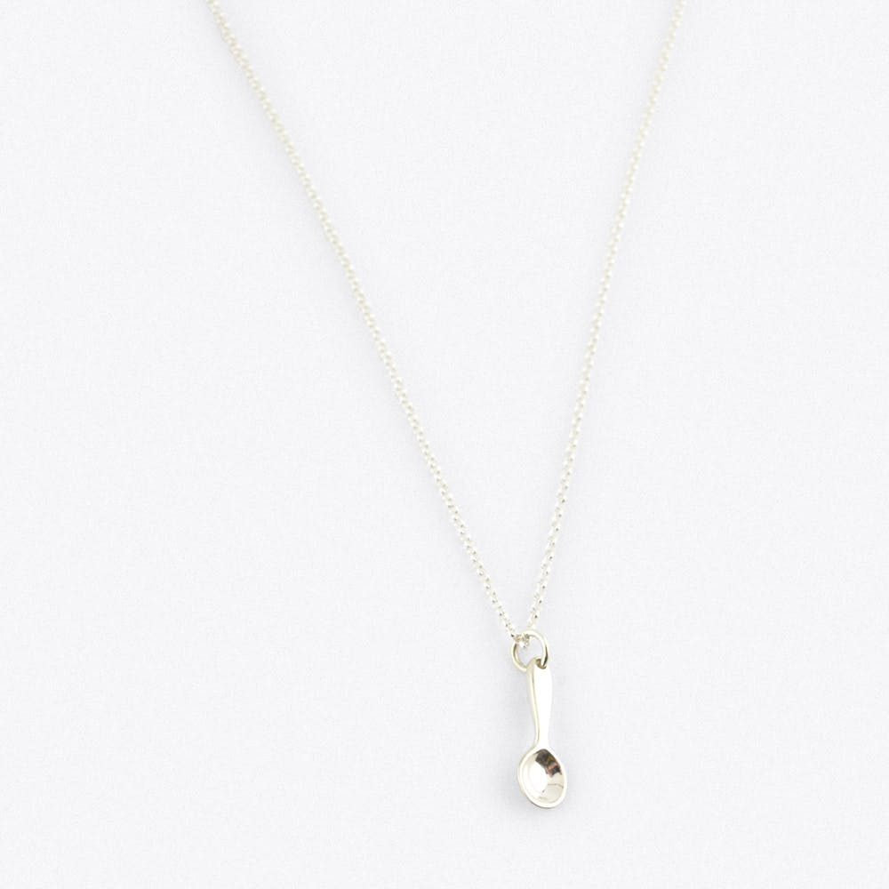 Silver Spoon Charm necklace
