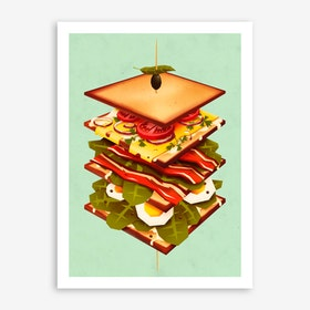 Dreamy Sandwich Print