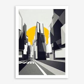 Rise New York Print