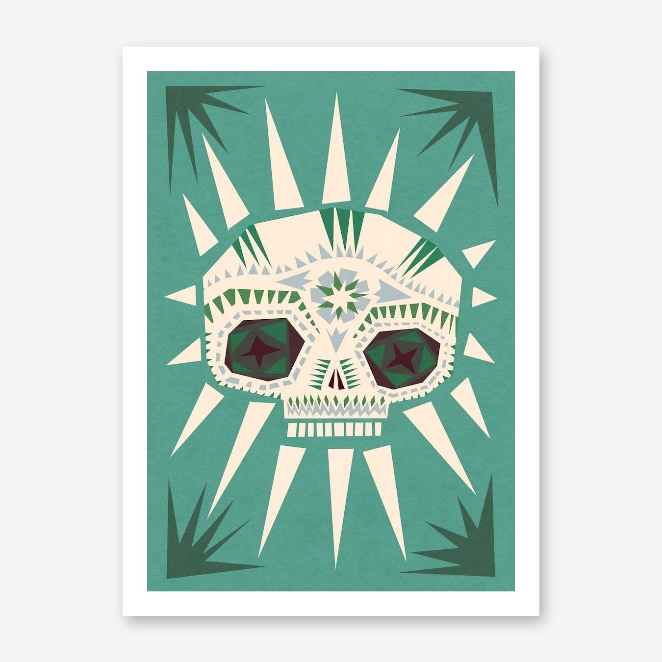 Sugar Skull II Print