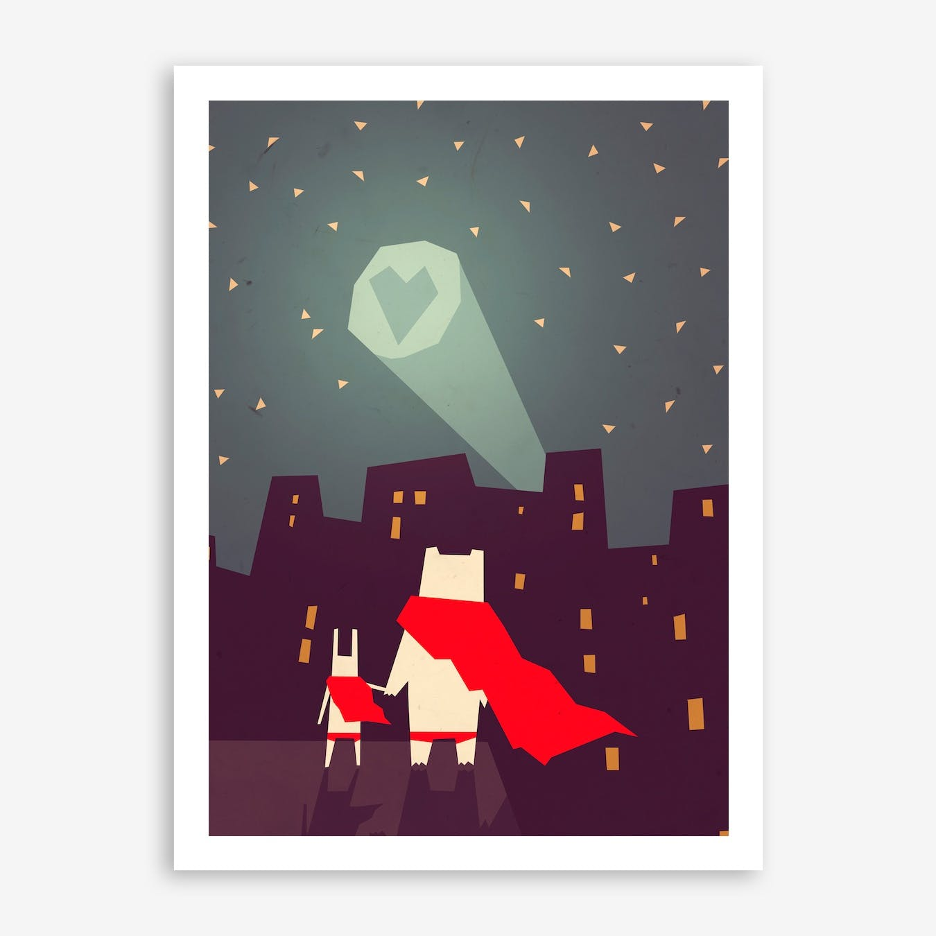 The City Needs Love Print