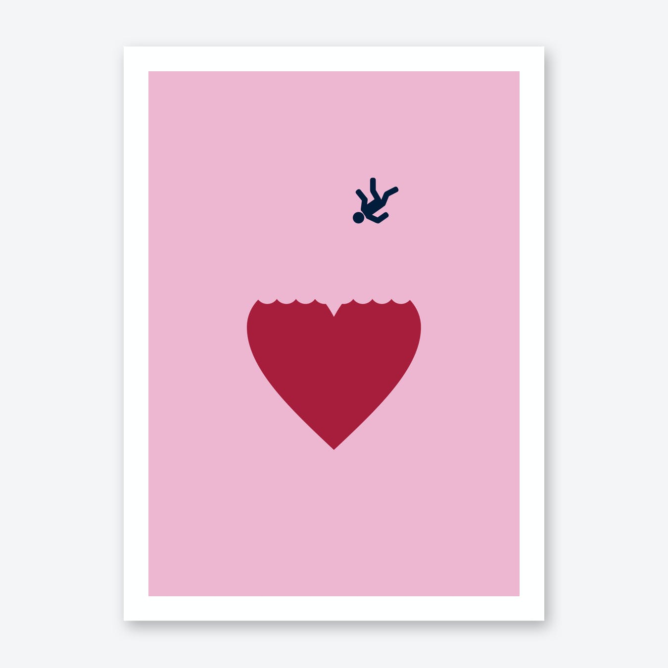 Fallen In Love Art Print