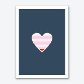 All Out Of Love Dark Art Print