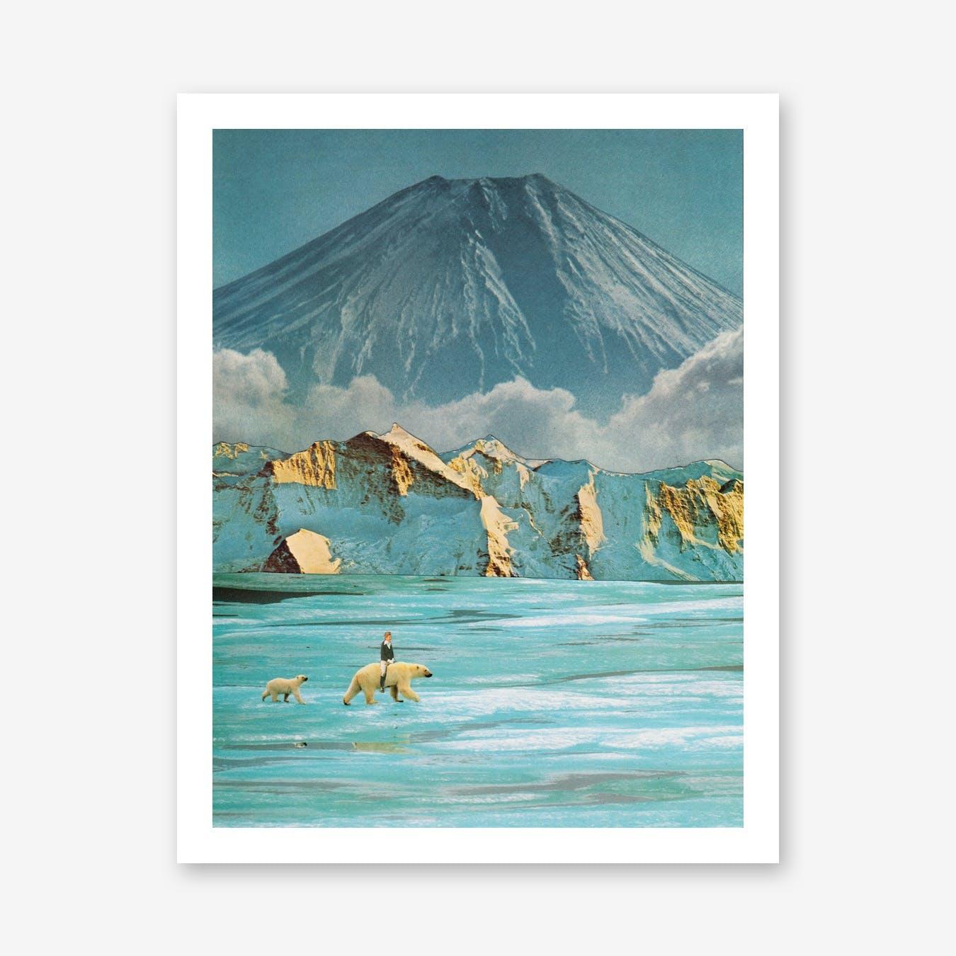 Polar Crossing Print