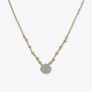 Teardrop Moonstone Choker