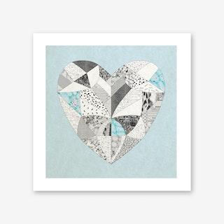 Chemical Reaction Love Art Print