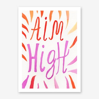 Aim High Art Print