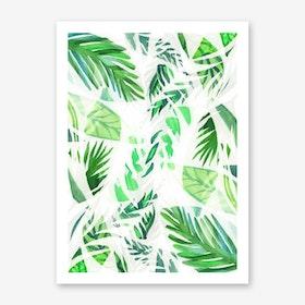 Tropical Leaf Art Print