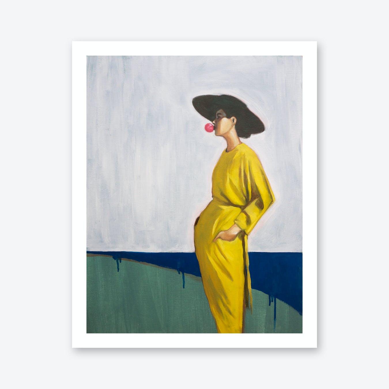 The Day We Caught The Train Eturelana Art Print