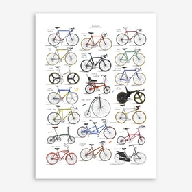 Bicycles Print
