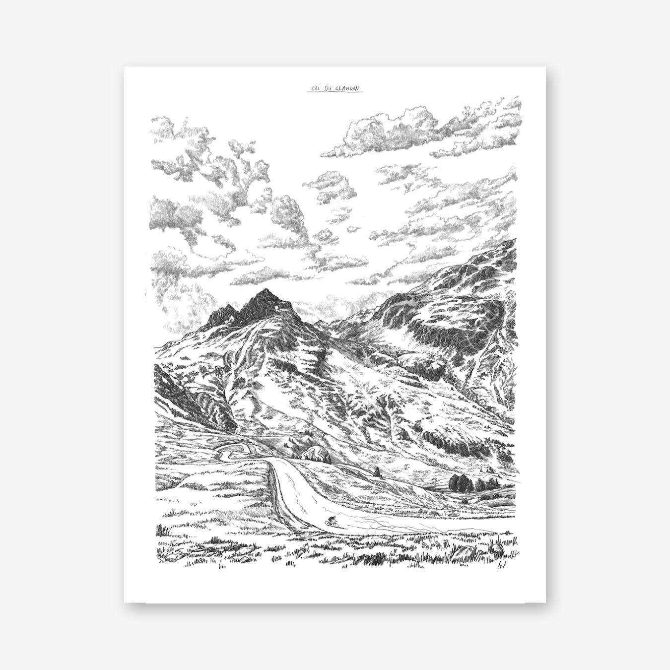 Col Du Glandon Print