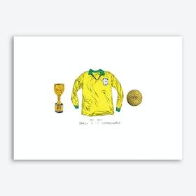 Brazil World Cup 1962 Art Print