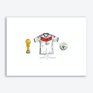 Germany World Cup 2014 Art Print