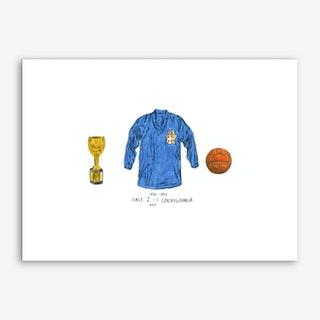 Italy World Cup 1934 Art Print