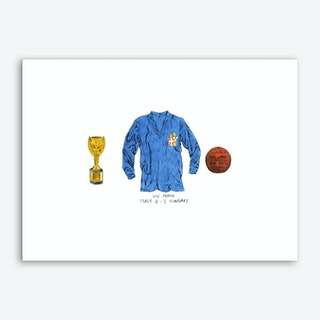 Italy World Cup 1938 Art Print