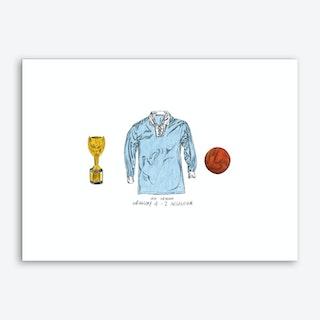 Uruguay World Cup 1930 Art Print