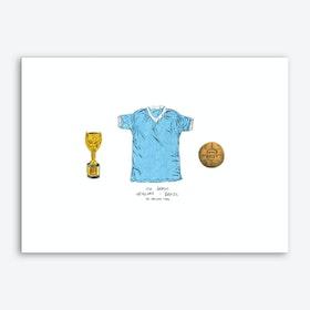 Uruguay World Cup 1950 Art Print