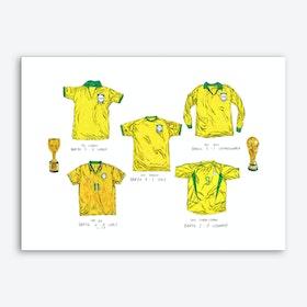 World Cup Winners Brazil Art Print
