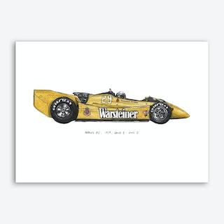 Arrows Art Car Art Print