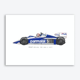 Brabham BMW BT52 Art Print