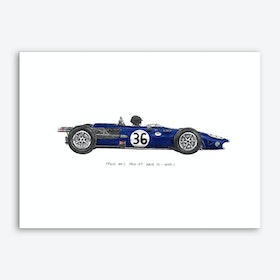 Eagle MK1 Car Art Print