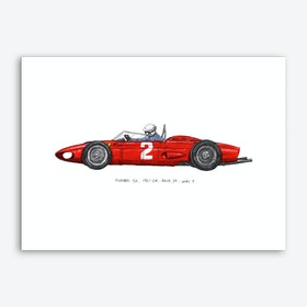Ferrari Car Art Print