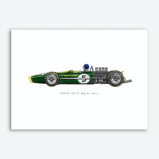 Lotus 49 Car Art Print