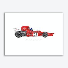 March 711 Car Art Print