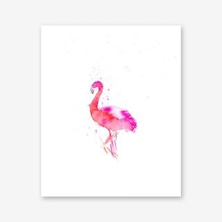 Flamingo I Art Print