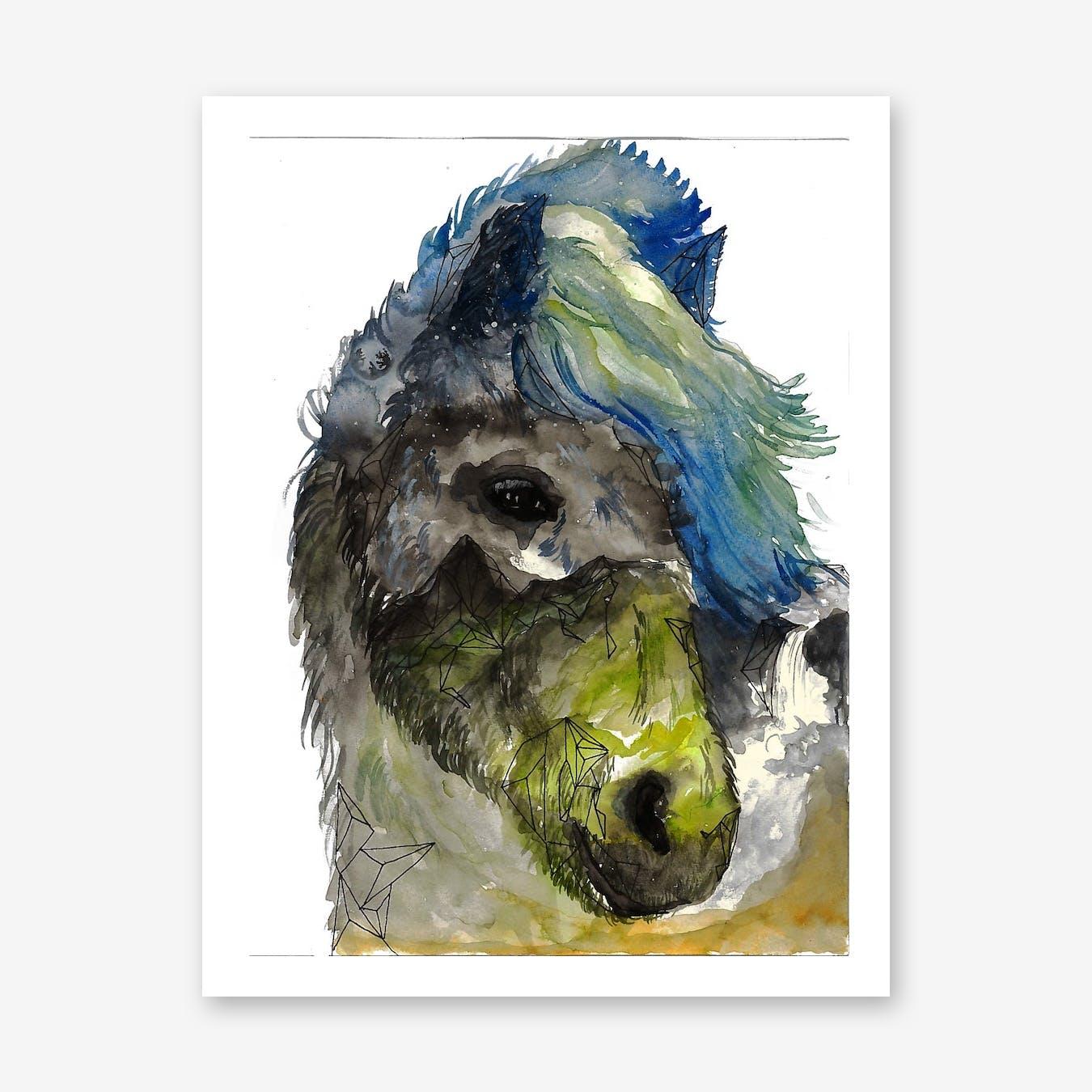 Icelandic Horse Print