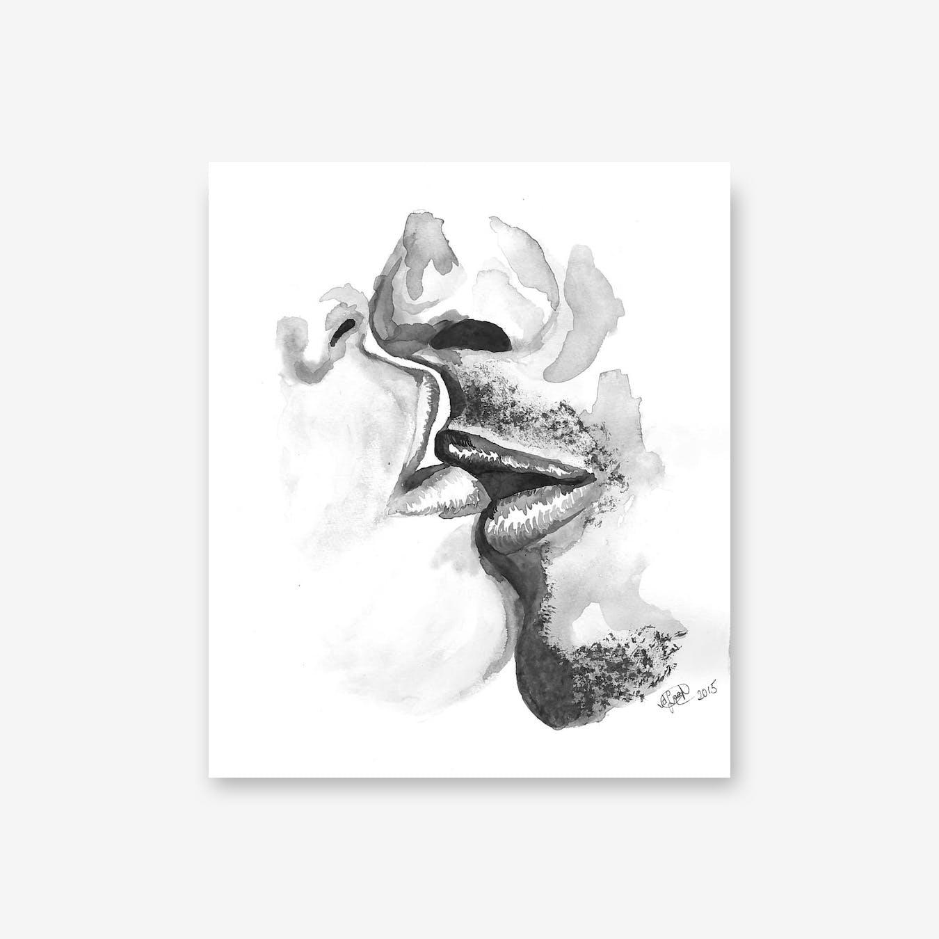 Kiss III Print