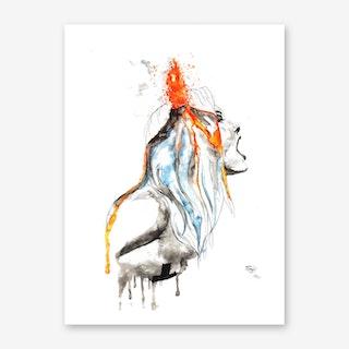 Volcano 2 Art Print