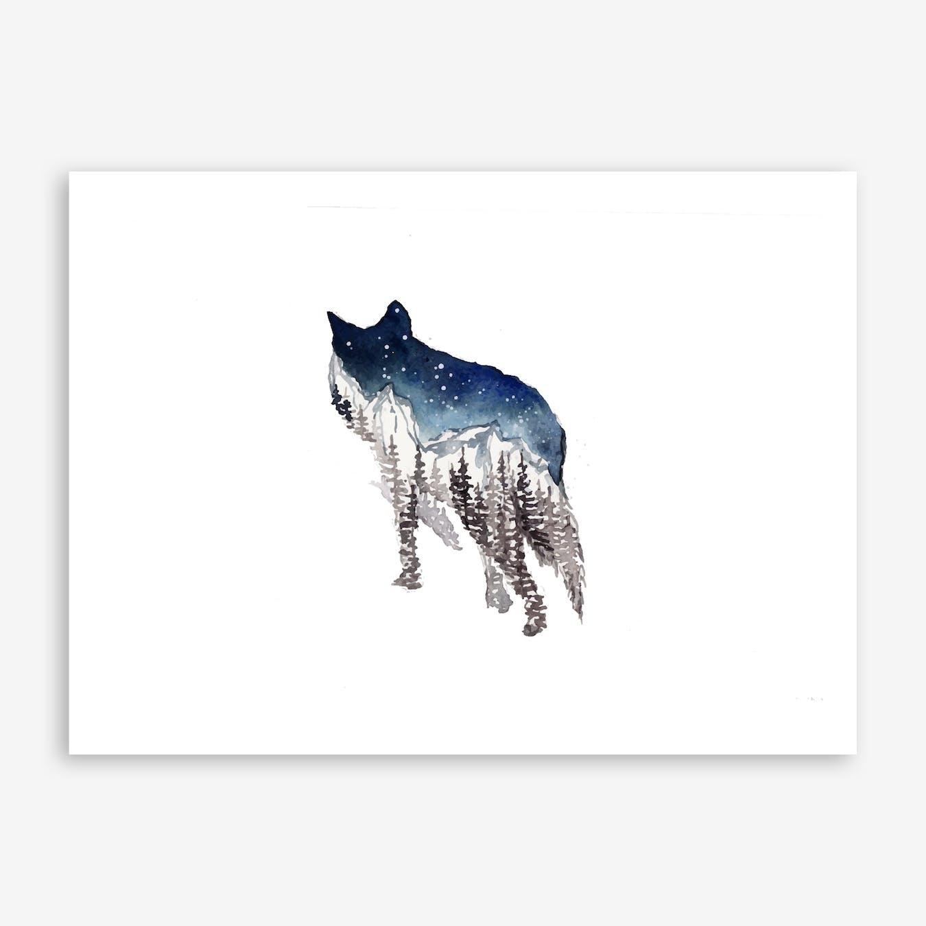 Wolf I Print