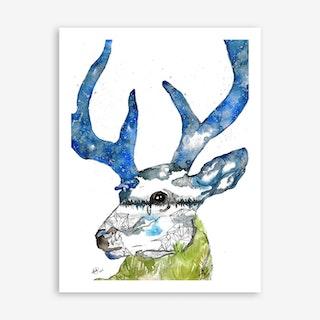 Deer II Art Print