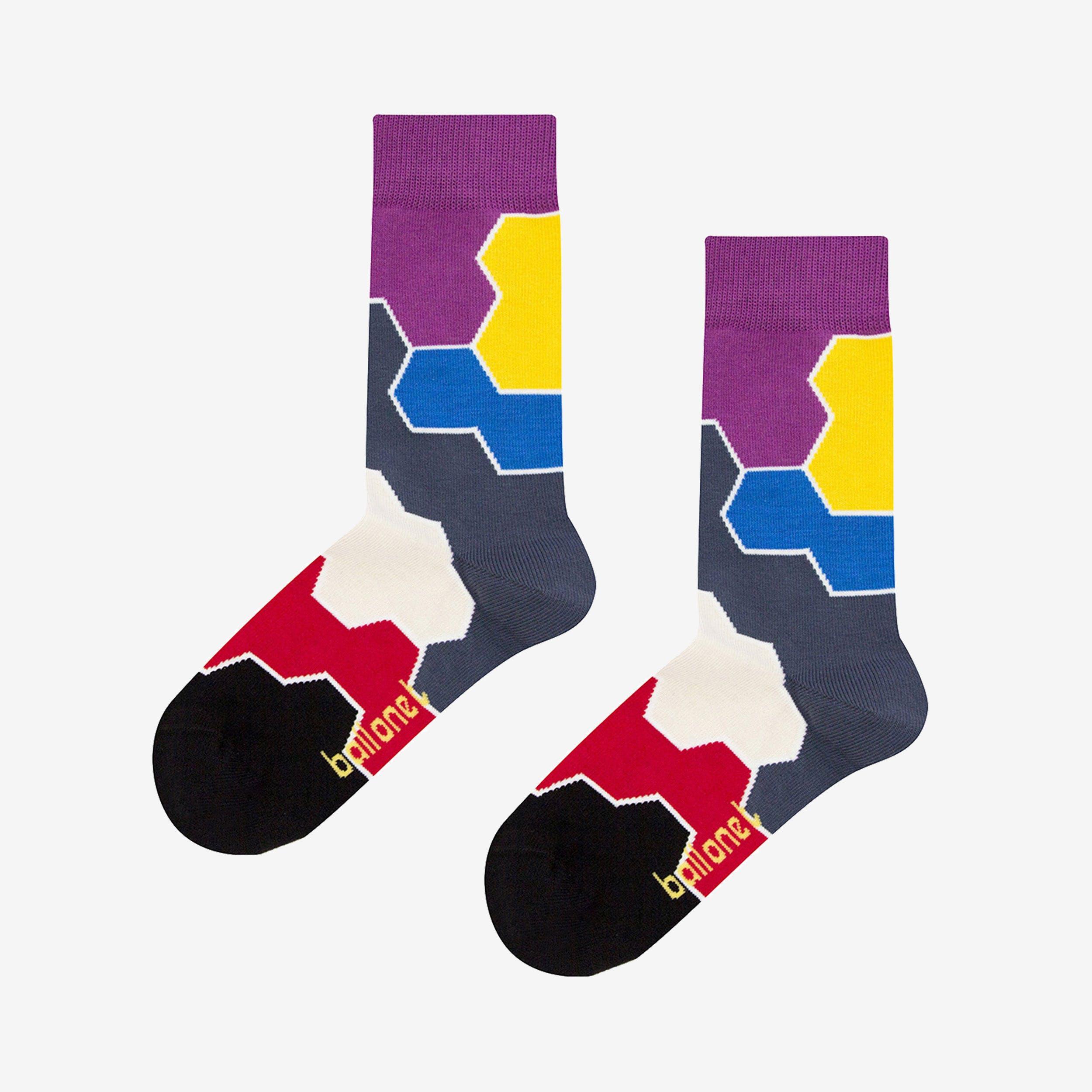 Molecule Toy Socks