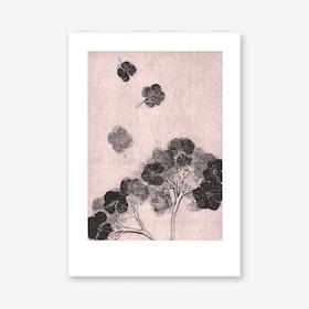 Hortensia Blush Art Print In 30cm x 40cm