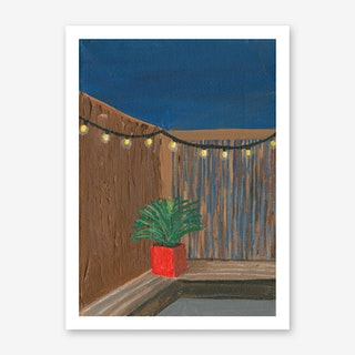 Lonely But Confident Plant Art Print