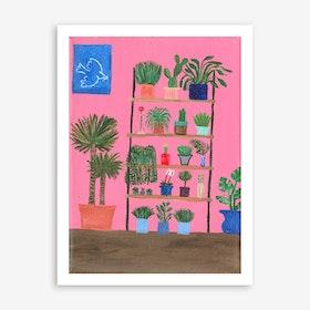 Peace Plant Art Print