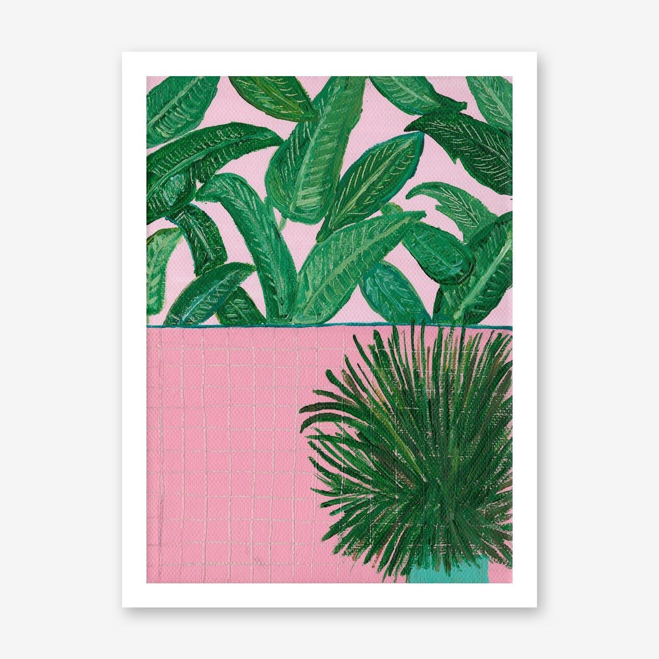 Plant Explosion Print