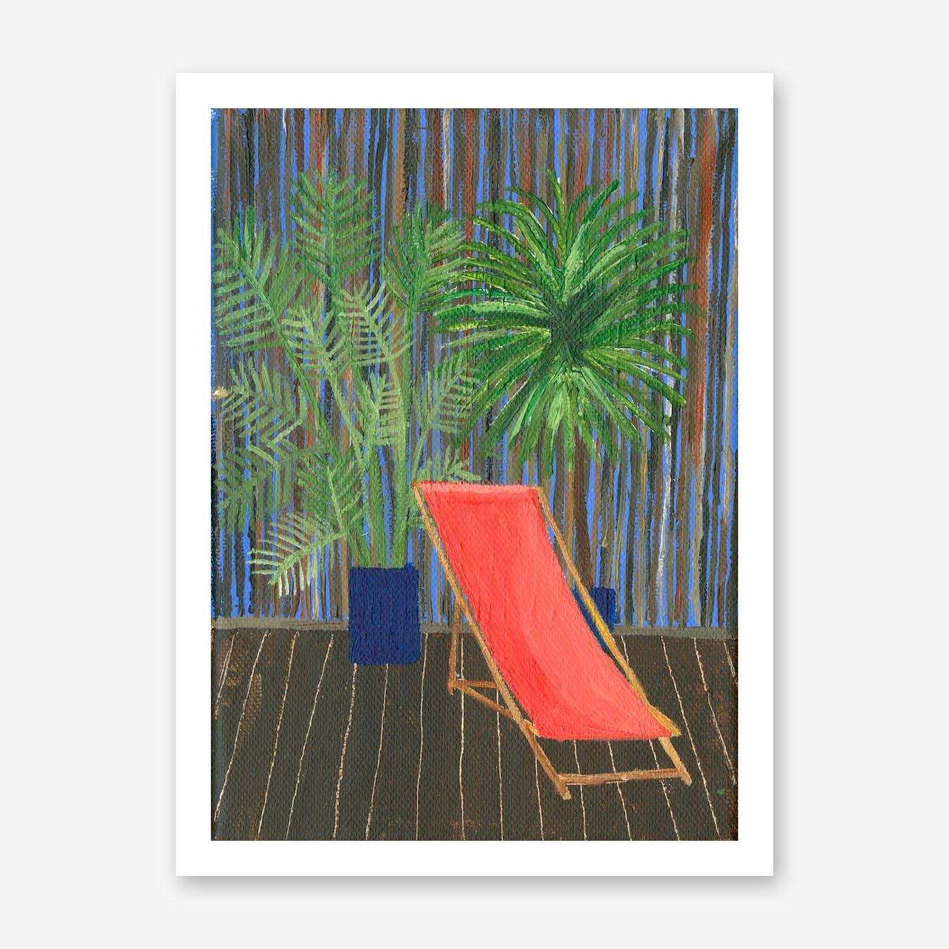 Deck Chair Print